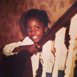 Photo of Tiwa Savage when she was 6yrs old